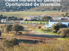 Finca con casas rurales en Badajoz