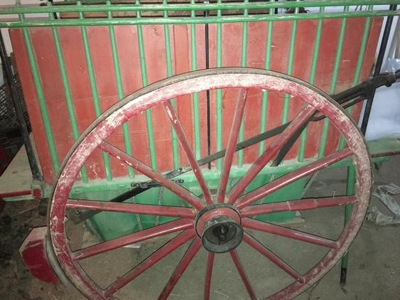 Carro de mulas antiguo