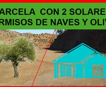 Finca con solares y permisos