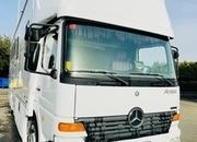 En venta camión Mercedes, 4 caballos y vivienda
