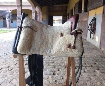 Montura Vaquera Artesana 22 Pulgadas