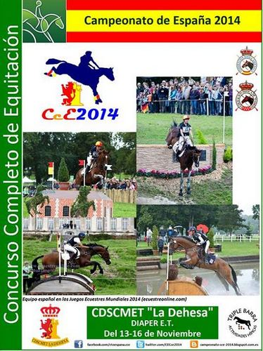 Campeonato de España de Concurso Completo 2014. Absoluto y Menores