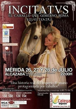Teatro Ecuestre 'Incitatus, el caballo que gobernó Roma'