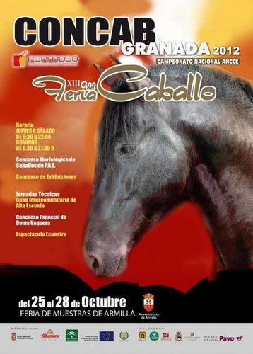 XIII Concab 2012: Feria del Caballo de Armilla, Granada
